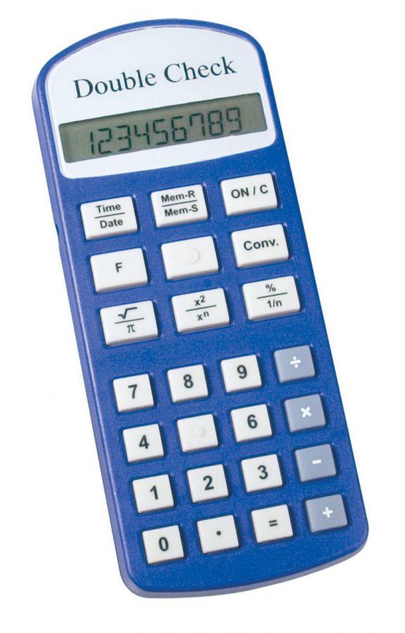 Mówiący kalkulator naukowy Double Check