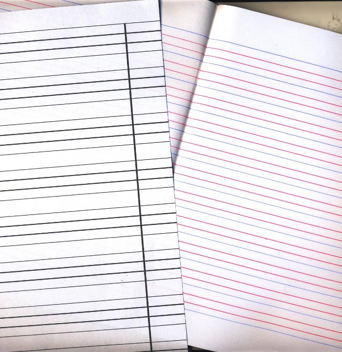 Porównanie zeszytu w 3 linie ze standardowym
